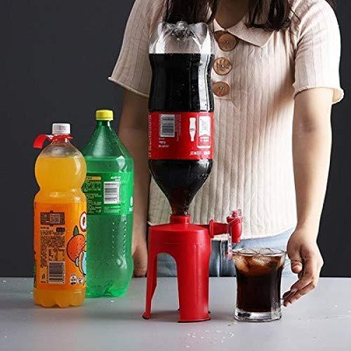 Sllnkll Machine Manuelle CréAtive De Boisson Gazeuse,Beverage Switch Upside Down Rack,Cola Bottle Distributor-Kitchen Bar Home Party Bever Switch (150x110x170cm)