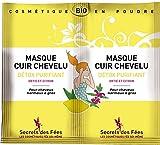 Secrets des Fées Masque Cuir Chevelu Détox Purifiant Bio 2 x 8 g