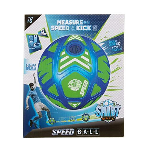 Smart Ball Speed Football, Talking Soccer Ball, Measures and Tells You Your Kick Speed, Great Quality, Innovative Design, Ideal Gift, Aged 6+
