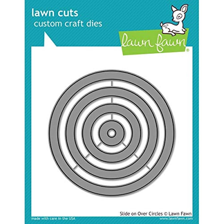 Lawn Cuts Custom Craft Die-slide On Over Circles