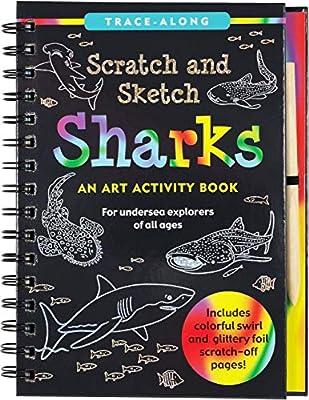 Scratch & Sketch Sharks (Trace Along)