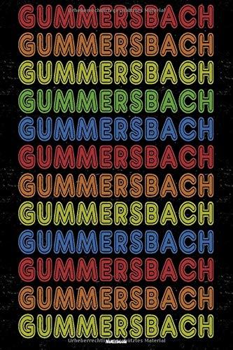 Gummersbach Notizbuch: Retro Vintage Gummersbach Stadt Journal DIN A5 liniert 120 Seiten Geschenk