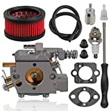 Alibrelo WT-416 Carburetor for Echo CS-440 CS-4400 Chainsaws Replace 12300039333 12300039330 12300039332 Walbro WT-416-1 WT-416C with 13031038331 Air Filter Tune Up Kit