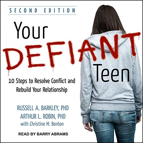 Your Defiant Teen audiobook cover art