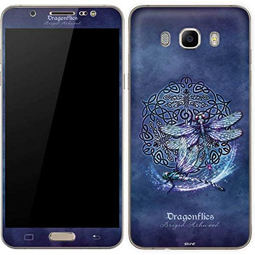 Skinit Decal Phone Skin Compatible with Galaxy J7 - Originally Designed Dragonfly Celtic Knot Design