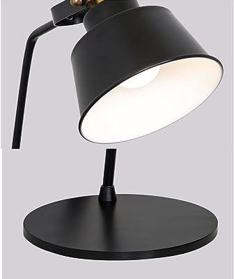 Lampes de chevet Lampe en fer forgé post-moderne Accueil Lampe de salon simple Lampe de bureau en métal d'étude Lampes de table