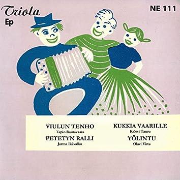 Tapio Rautavaara, Kalevi Tauru, Jorma Ikävalko ja Olavi Virta