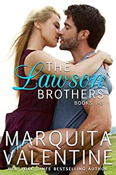 The Lawson Brothers Bundle: Books 1-3 by [Marquita Valentine]