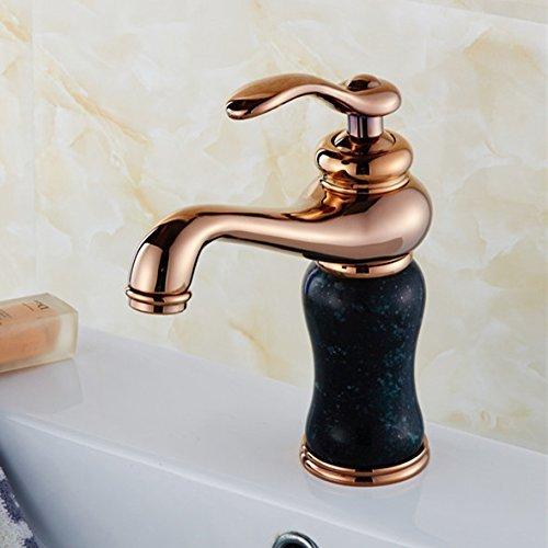 Kraan met de witte marmer bad kamers mengen van de warm gewalst van stijf messing water, multi-Mixer