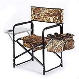 1yess Deluxe Portable Ultra-léger Camping Chaise Pliante, avec Support latéral Table Et Coupe, Respirant Comfort Résistance à la déchirure, for Camping en Plein air Voyage Randonnée Plage 8bayfa