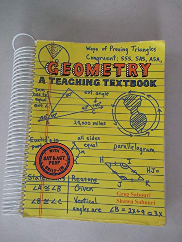 Geometry: A Teaching Textbook, Complete Curriculum