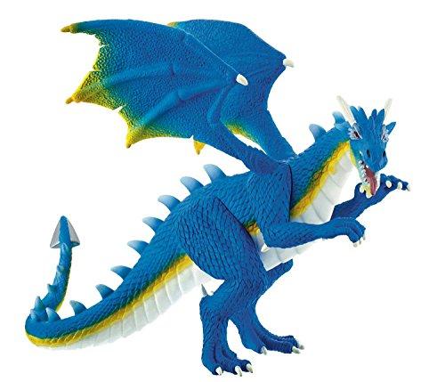 Bullyland 75574 - Spielfigur, Wasserdrache Aquarius, ca. 14 cm groß, liebevoll handbemalte Figur, PVC-frei, tolles Geschenk für Jungen und Mädchen zum fantasievollen Spielen