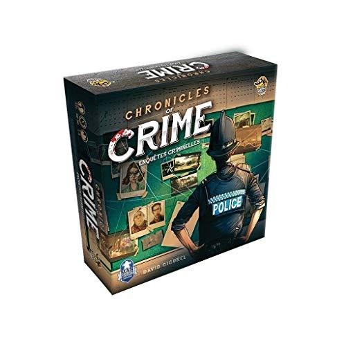 Abyss Cronicles of Crime - Juego de Mesa para investigaciones penales