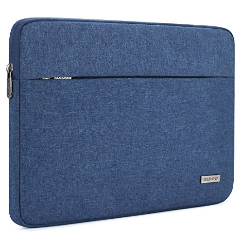 NIDOO 11 Inch Laptop Sleeve Case Water-Resistant Bag Portable Computer Protective for 12.9' iPad Pro 2018/13' MacBook Air 2018/13' MacBook Pro 2016-2018/12.3' Surface Pro 6/12' Galaxy Book2, Blue