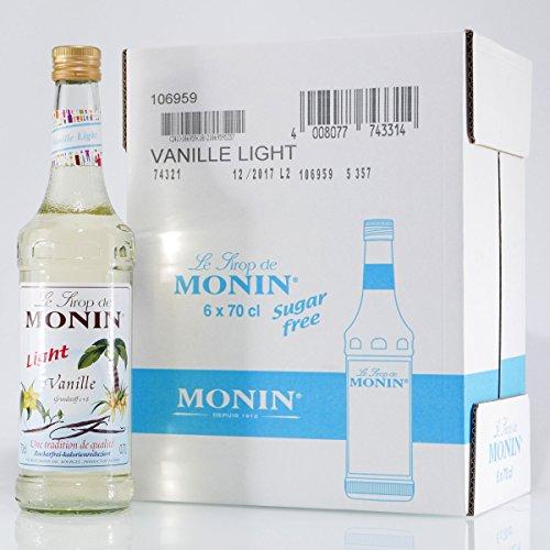 Monin Vanille light (6 x 0,7L)