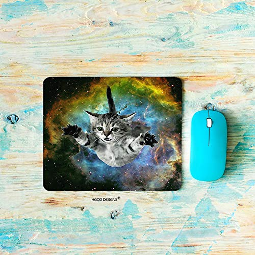alfombrilla raton gato de la marca HGOD DESIGNS