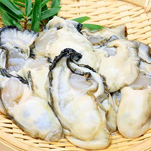 生食牡蠣 かき カキむき身 1袋 500g 30〜40粒 海鮮 貝類 北海道 厚岸産