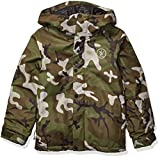 Volcom Boys' Big Ripley Insulated Relaxed Fit Snow Jacket, gi Camo, Extra Large