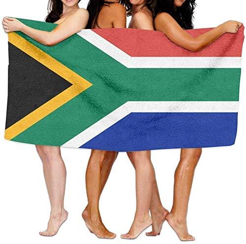 NR Strand Handdoek Vlag van Zuid-Afrika Zacht Lichtgewicht Absorbens voor Bad Zwembad Yoga Pilates Picknic Deken Handdoeken 31 x 51 inch