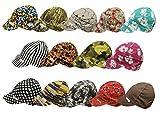 Comeaux Caps 118-1000-7-3/8 Deep Round Crown Caps, 7 3/8', Assorted Prints