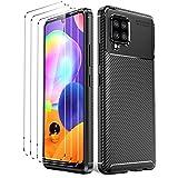 Oududianzi - Hülle für Samsung Galaxy A42 5G + [3X