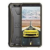Blackview BV5500 アウトドア スマートフォン SIMフリースマートフォン本体 5.5インチ18:9 HD 全画面 2GB RAM 16GB ROM(32GBまでサポートする)4400 mAh 大容量 バッテリー IP68 防塵 防水 耐衝撃 アウトドア 3G 携帯電話本体 オクタコア Android 8.1 8MP+2MPカメラ 指紋認識 NFC GPS コンパス LED懐中電灯