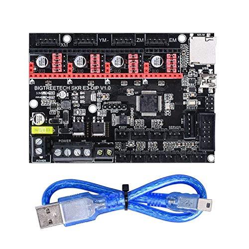 BIGTREETECH 3D Printer Part SKR E3 DIP V1.0 32bit Control Board Marlin Open Source Compatible withRamps1.4/1.5/1.6 Support TMC2208/TMC2130 A4988/8825 Drivers