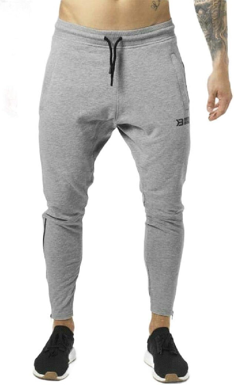 Mogogo Men's Fitness Taper Fit Comfort Soft Drawstring Sports Running Pants