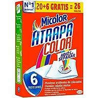 Micolor Toallitas Atrapa Color - 26 Lavados