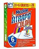 Micolor Toallitas Atrapa Color 20+6D