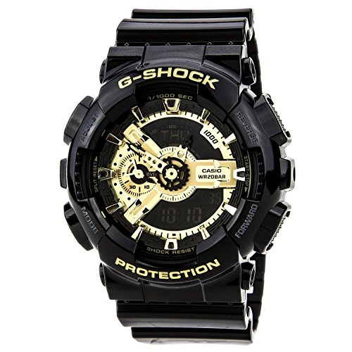 Orologio Casio G-Shock G Shock nero × serie oro nero × oro serie Ga-110Gb-1A uomini