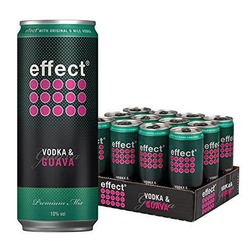 effect Vodka & Guava, Mixgetränk Vodka Energy, 10% Vol. (12 x 330ml)