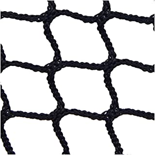 Backstop Net,Baby Stair Net Balcony Safety Kids Railing Ball Stopping Netting Nylon Goal Ball Stop Net Nets Golf Course Barrier Replacement Protection Rope Children Rail Stairs Indoor Outdoor Black