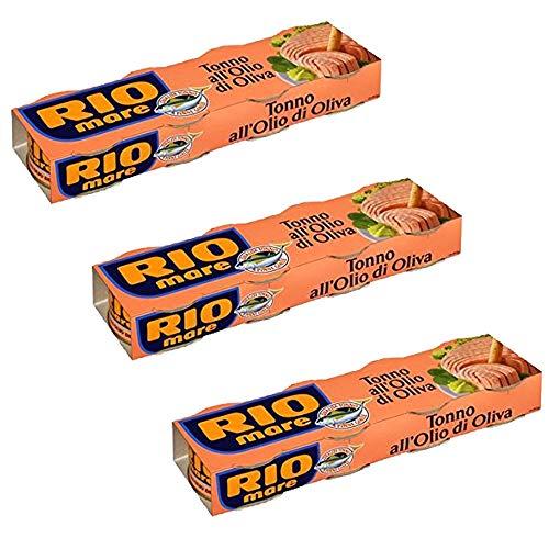 Rio Mare 24x 80g Tuna Fish in Olive Oil 2X Mega Pack 12x80g