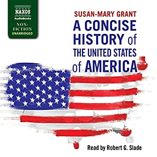 A Concise History of the United States of America audiobook cover art
