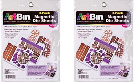 ArtBin Magnetic Die Sheets 3 Pack Pack of 2 product image