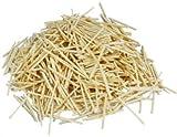 1000 Allumettes lisses en bois naturel pour la fabrication de modèles