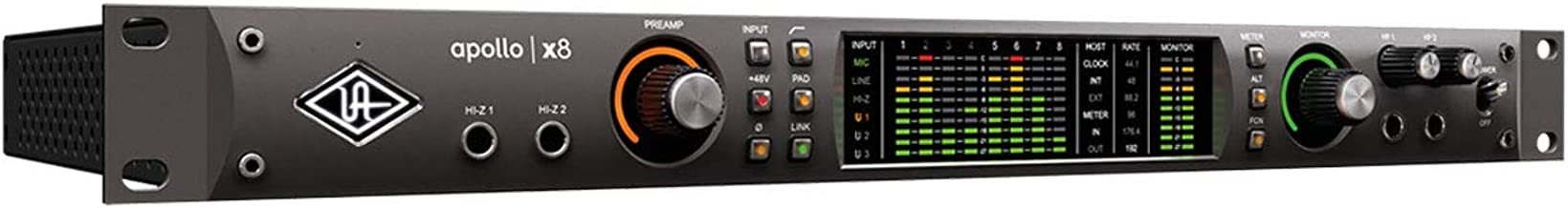Universal Audio Audio Interface, 4 Unison Enabled Mic Preamps (APX8)