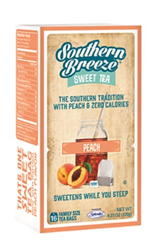 Southern Breeze Sweet Tea - Peach (16 Tea Bags)