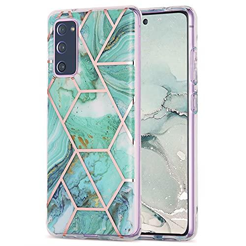 CHENSHU Funda para Samsung Galaxy S20 FE 5G/4G Mármol, Carcasa Brillante Ultra...