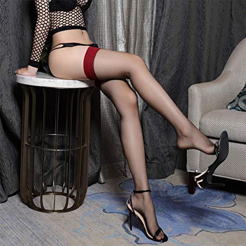 Strümpfe 1 Paar schwarze Silk Sexy Mode für weibliche,Schwarz