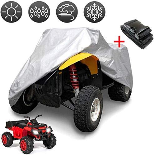 Funda impermeable universal de coche para el polvo Mean Machine color gris nieve la lluvia