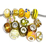 Pack of 10 Beads You Choose Colors Glass Lampwork Murano Glass Beads for...