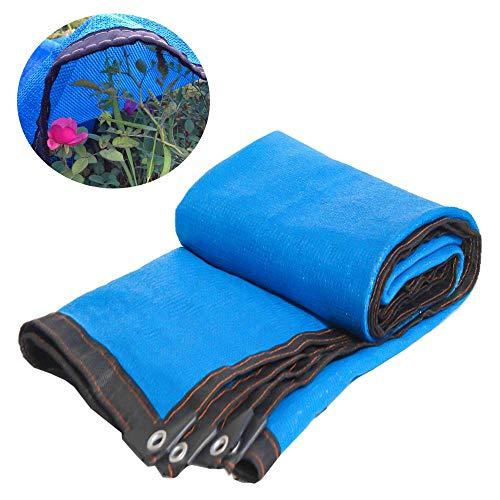 Shading Net LDFZ 90% groen schaduwnet – zonwering doek – 8-polige encryptie – zware kassen/autotuin/tuinhuis/achtertuin (5 m × 8 m)