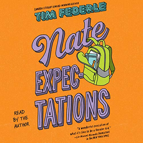 Nate Expectations audiobook cover art