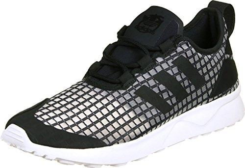 adidas Damen ZX Flux ADV Verve Sneaker, Schwarz (Core Black/Core Black/Core White), 40 EU