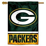 Wincraft Green Bay Packers Doppelseitige Hausflagge