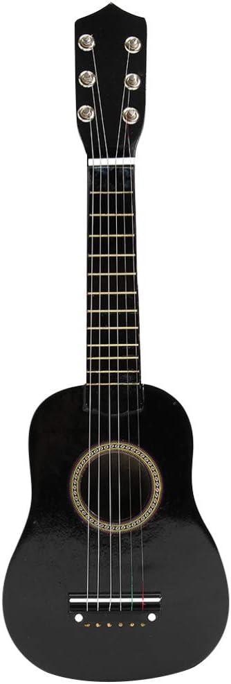 Toyvian 23 Inch Kids Louisville-Jefferson County Mall Guitar Toy Wooden Children Music Lea Limited time cheap sale