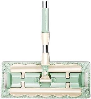TBCML モップ、プロのマイクロファイバーモップ360床洗浄用フラットモップ、広葉樹、木材、タイル、壁のウェットとドライの床洗浄モップ、