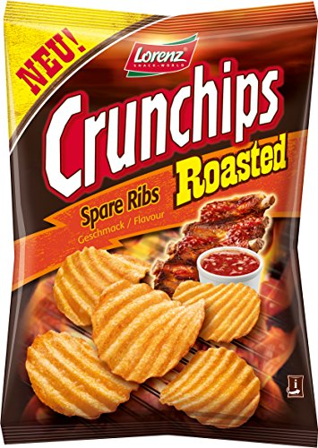 Lorenz Crunchips Roasted Spare Ribs, 8er Pack (8 x 150 g)
